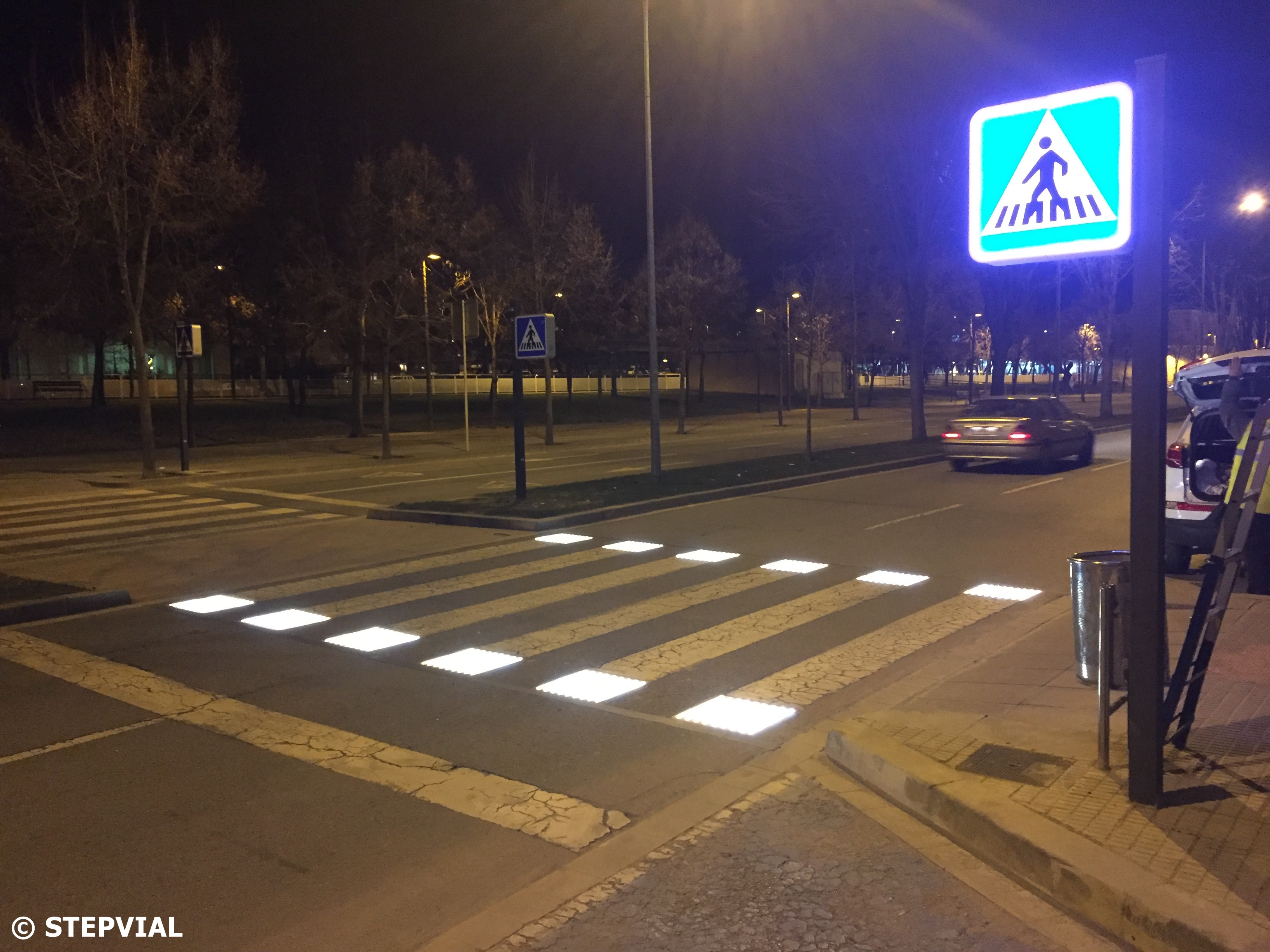 Smart Pedestrian Crossing in Vic (Barcelona)