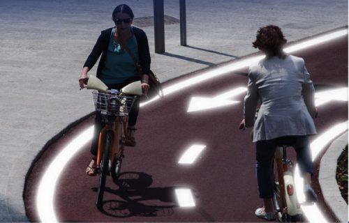 STEPVIAL - Marcas viales carril bici - SMART ROAD MARKING ON BIKE LANE