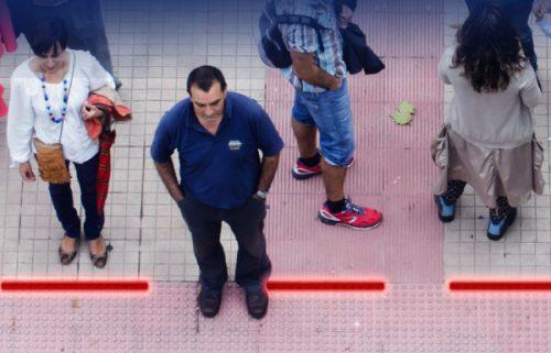 STEPVIAL -Indicador de posición semáforo - TRAFFIC LIGHT ON THE SIDEWALK