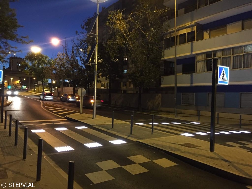 Paso de peatones inteligente Lisboa