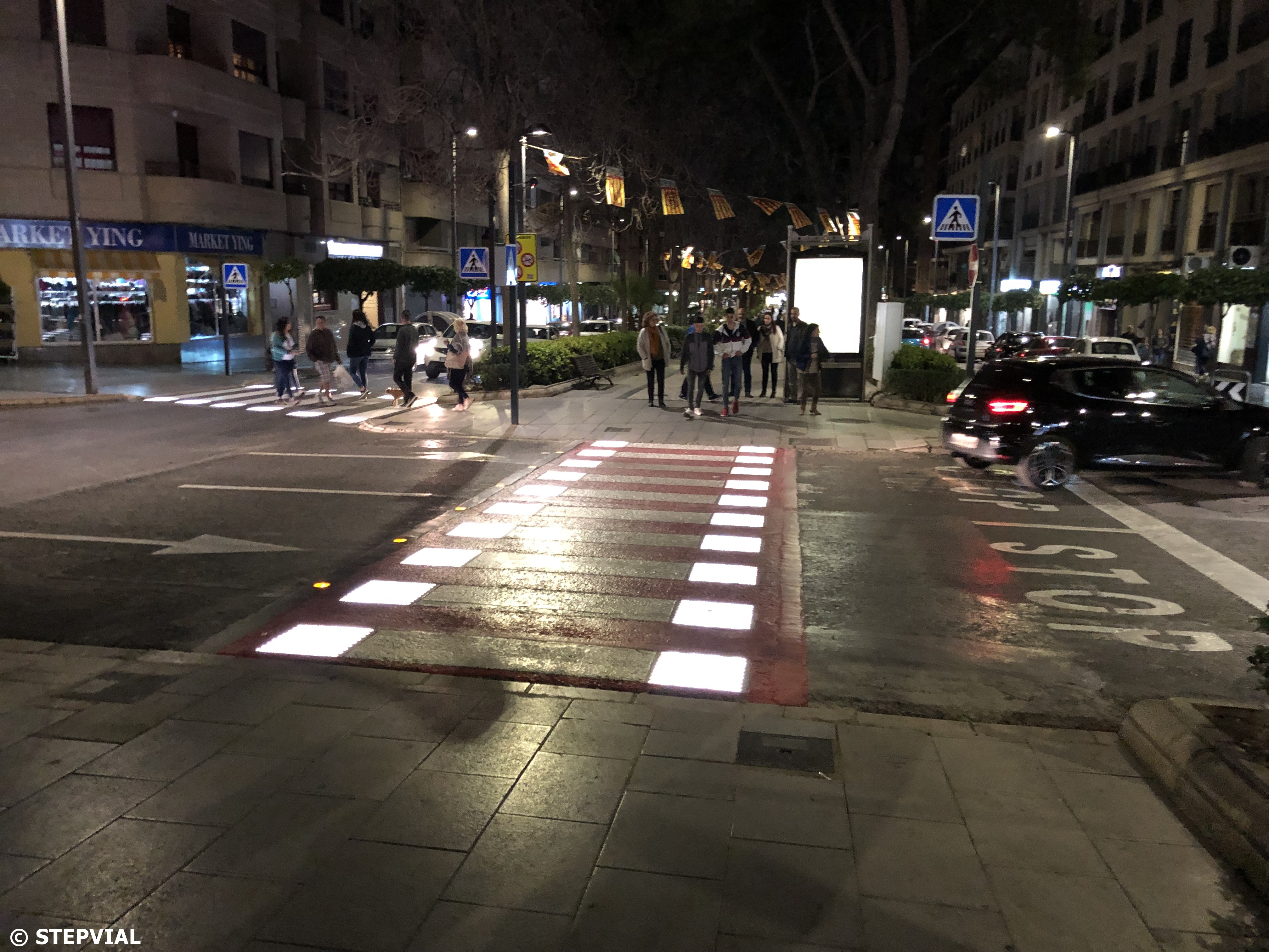 Smart Pedestrian Crossing in Torrent