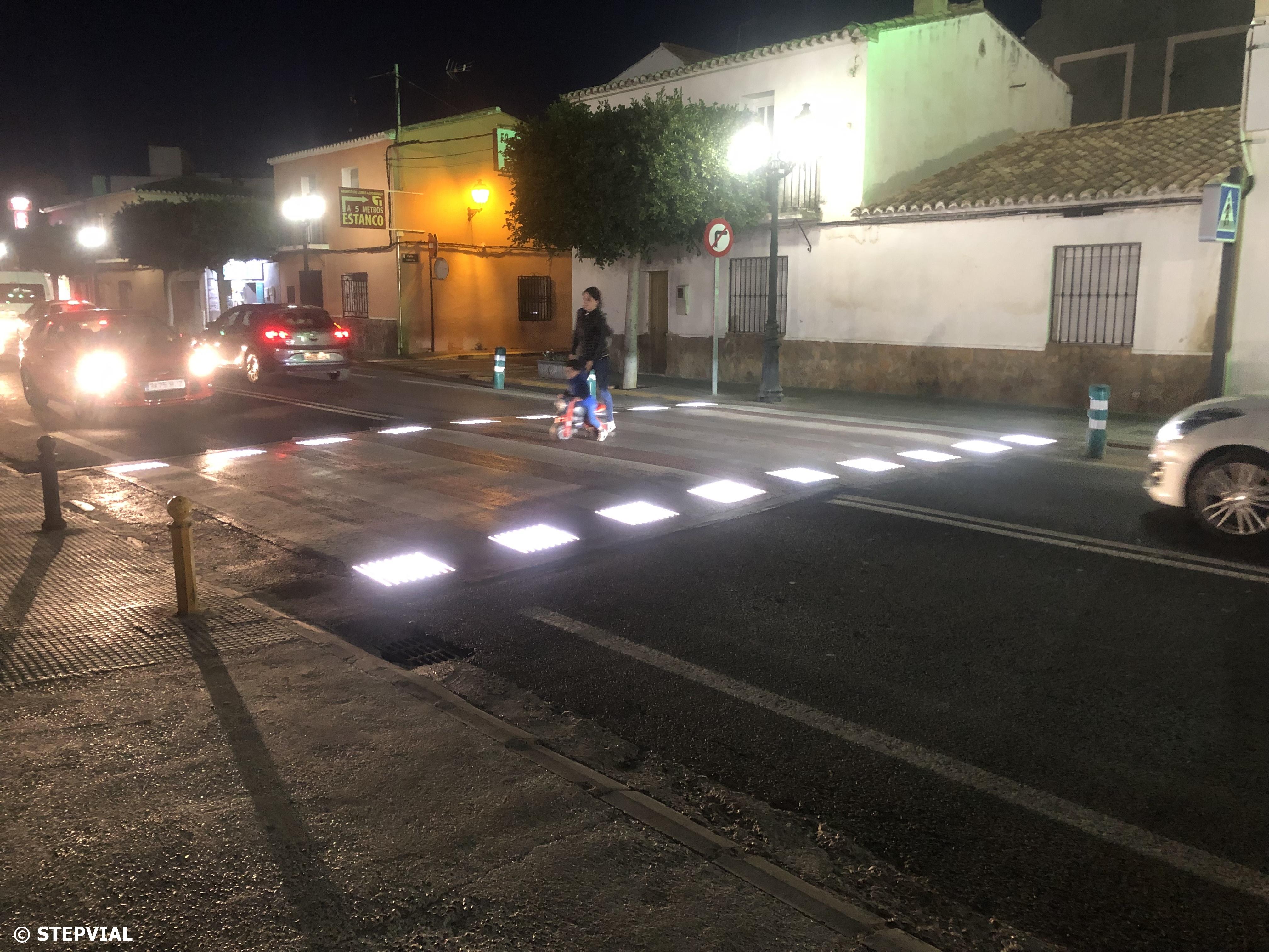 Passos de Vianants Intel·ligents a Sant Antoni de Benagéber