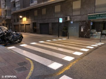 Smart Pedestrian Crossing in Elche