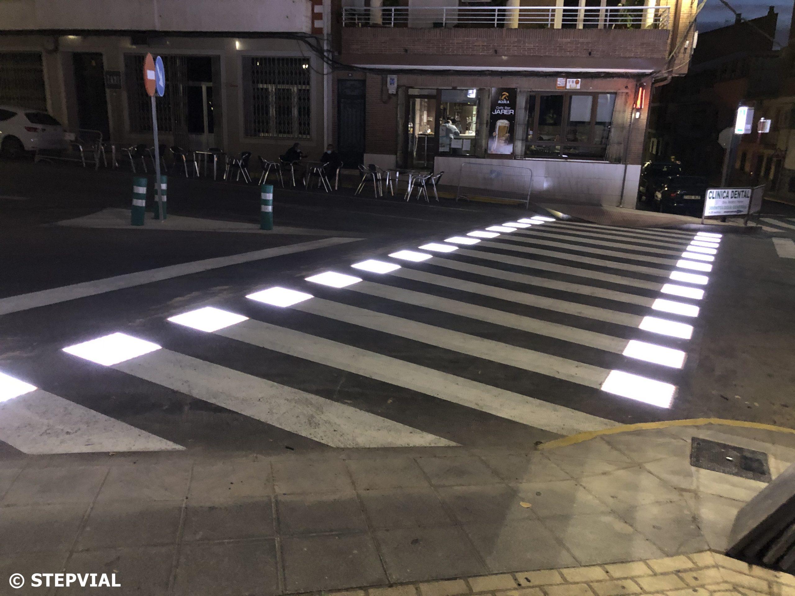 Paso de Peatones Inteligente Malpartida de Plasencia - Cáceres